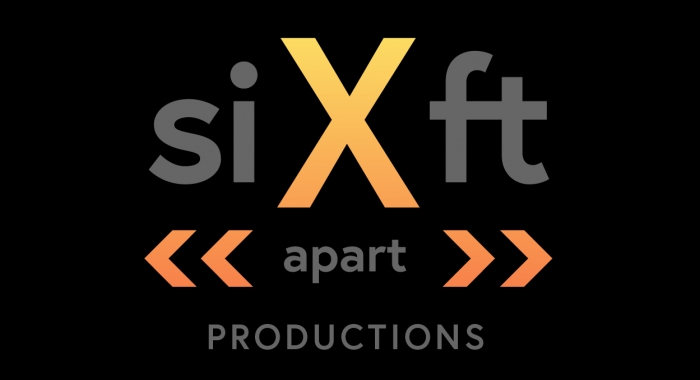 Six Feet Apart logo on black background