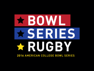 Bowl Series Rugby Branding designed by 4x3, LLC