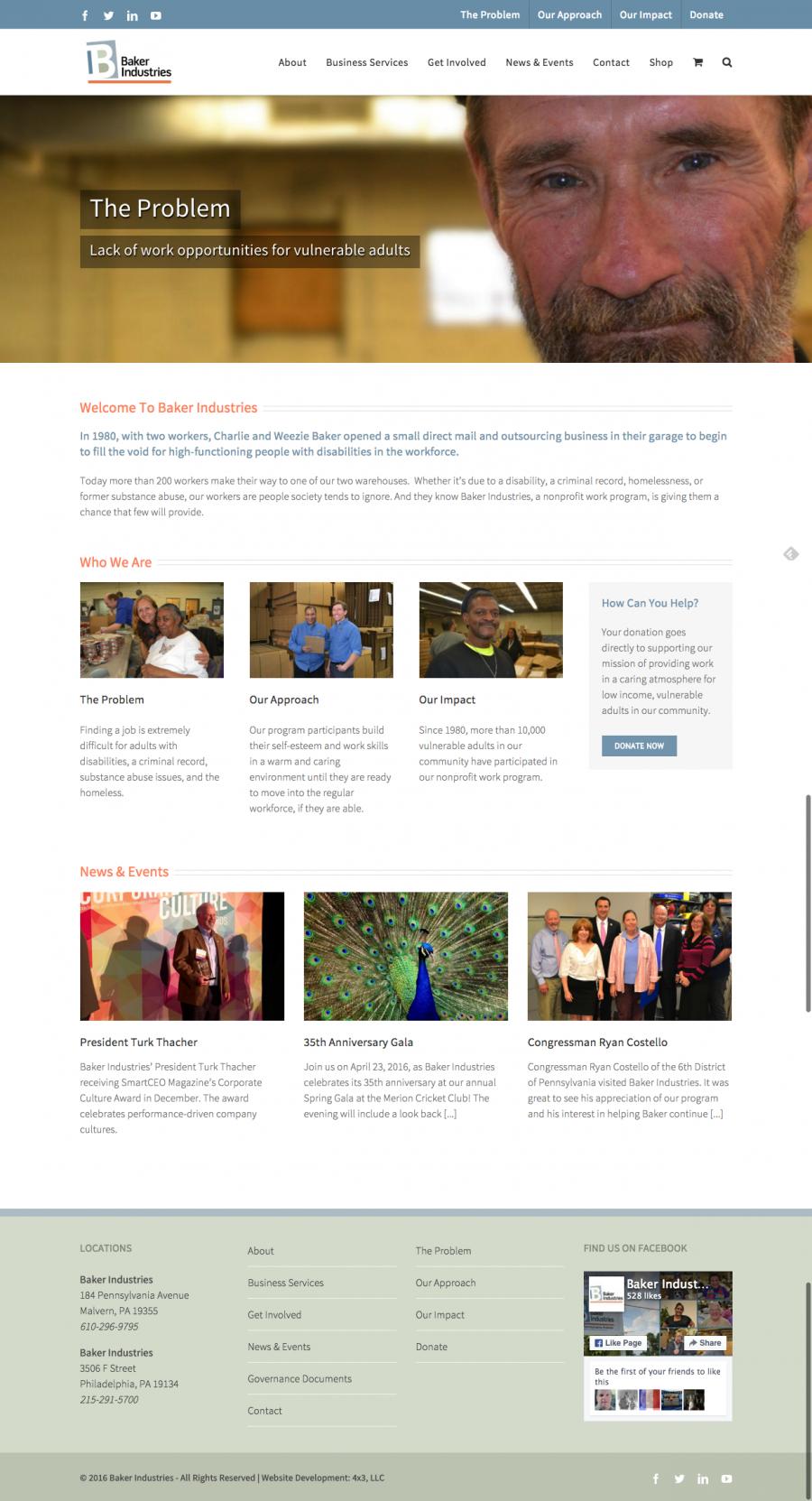 Baker Industries full website