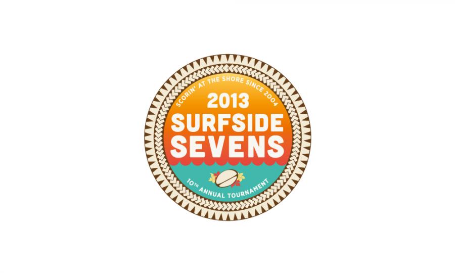 Surfside Sevens Branding begins with the logo