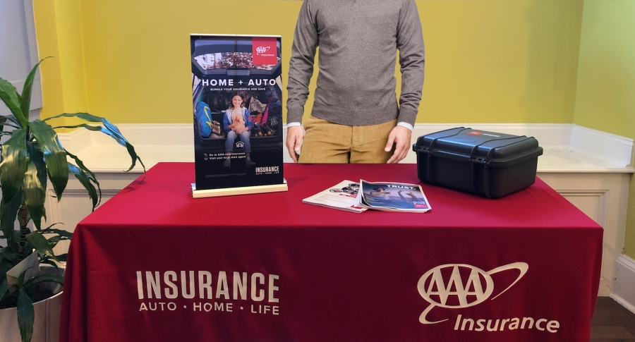 AAA Insurance Trade Show in a Box