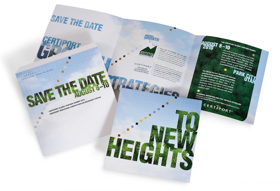 Certiport Save-the-Date mailing