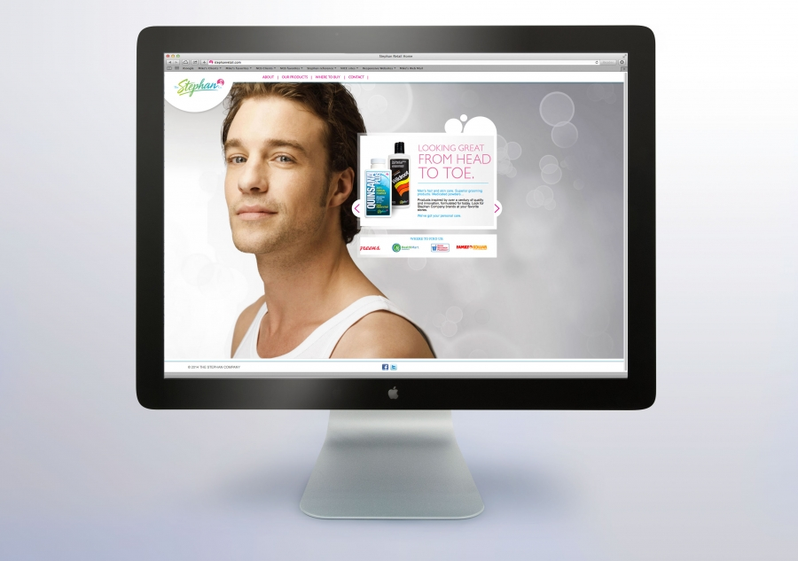 new product website messaging and graphics