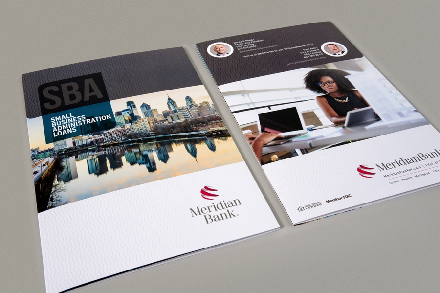 Meridian SBA Brochure, front and back covers