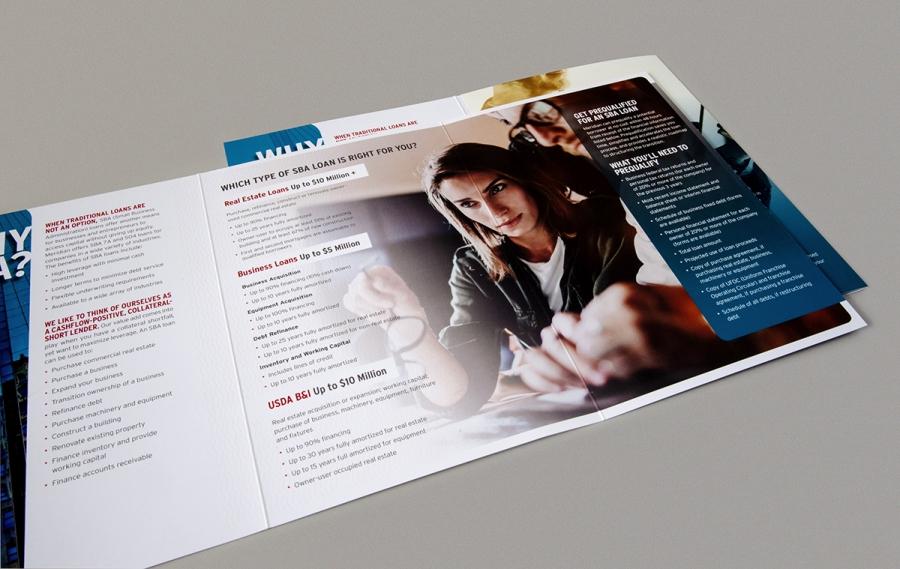 Meridian SBA Brochure, spread