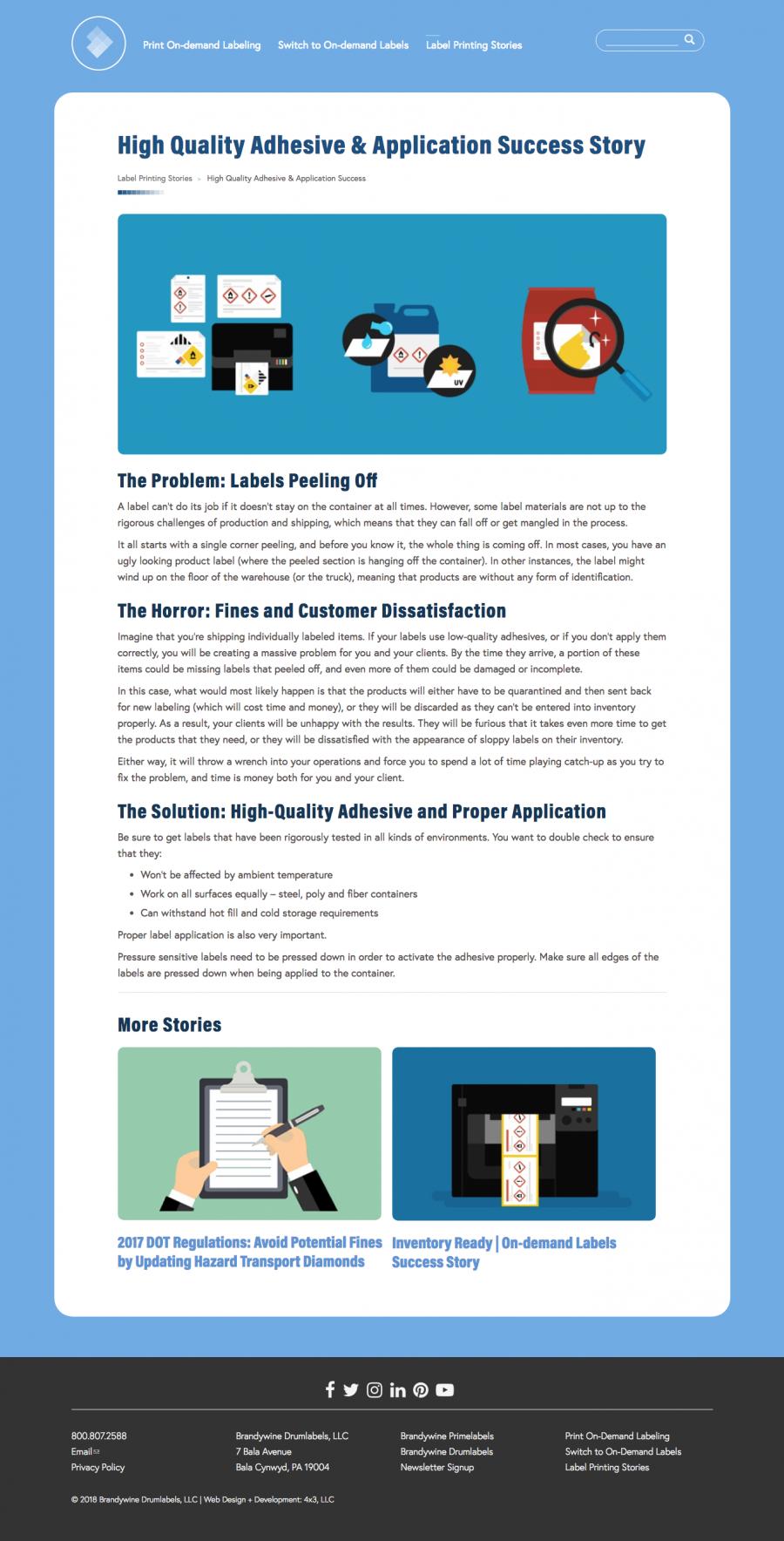 integrated SEO,blog-inspiredcontent, and organizednavigation