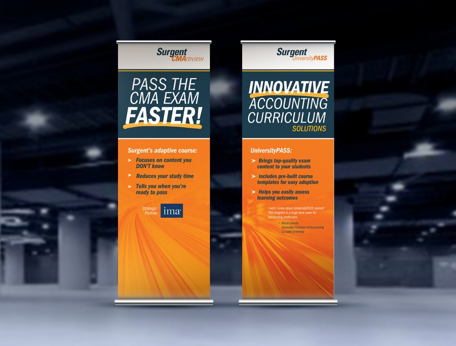 Surgent Trade Show Banners
