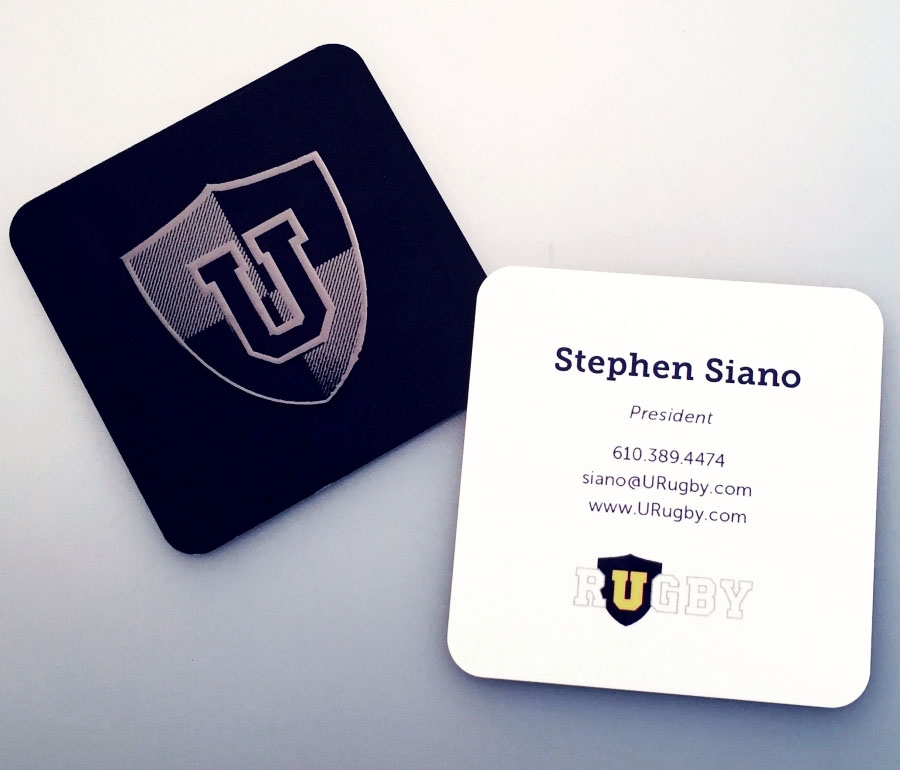 Urugby Business Cards, Stephen Siano President