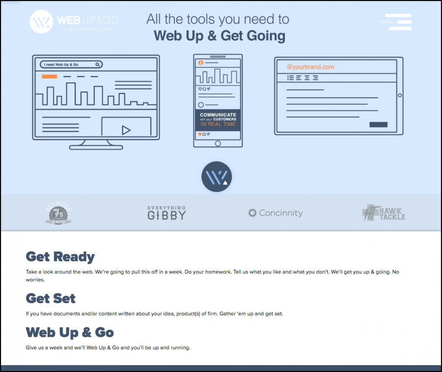 Web Up&Go Screen 3