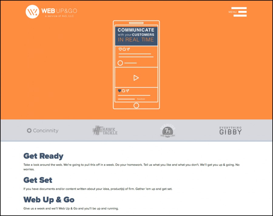 Web Up&Go Screen 4