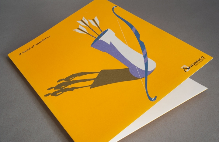 Annance Consulting Custom Print Design, Promotional Folders and Brochures