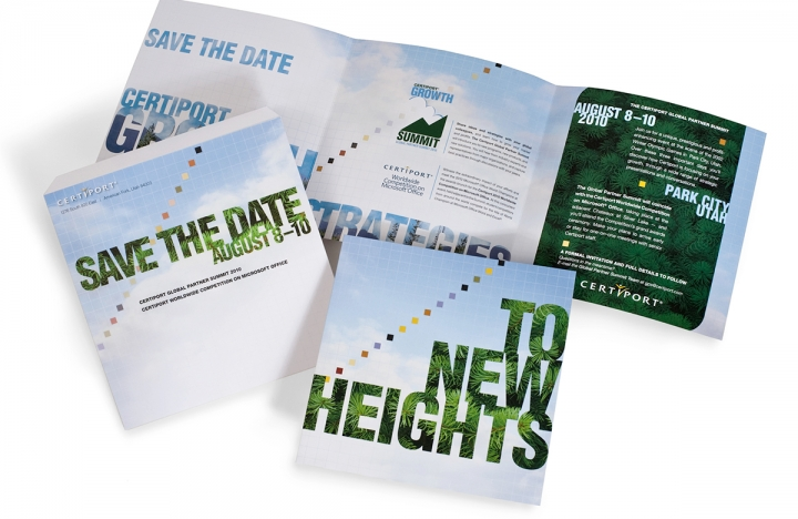 Certiport Invitation Print Design